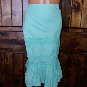 Laundry by Shelli Regal baby blue skirt